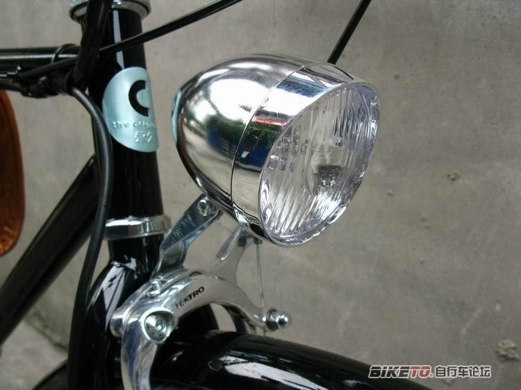 永久c复古自行车改装电动车 美骑论坛 BIKETO自行车论坛 Powered